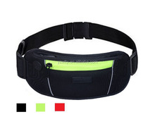 Wholesale Neoprene Running Waist Bag Travel Money Belt