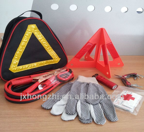 Emergency Road Kit in Canvas Bag