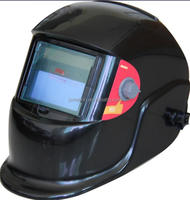 CE cheap welding helmet with black color