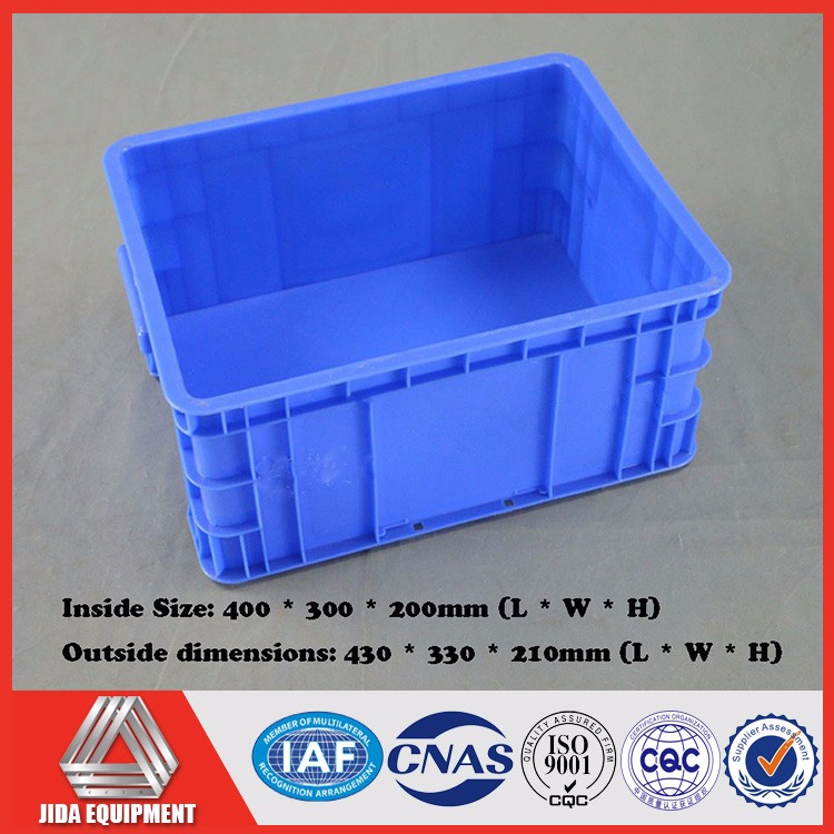 Plastic Basket Crates Box Vegetable Apple Fruit Plastic Container For Supermarket