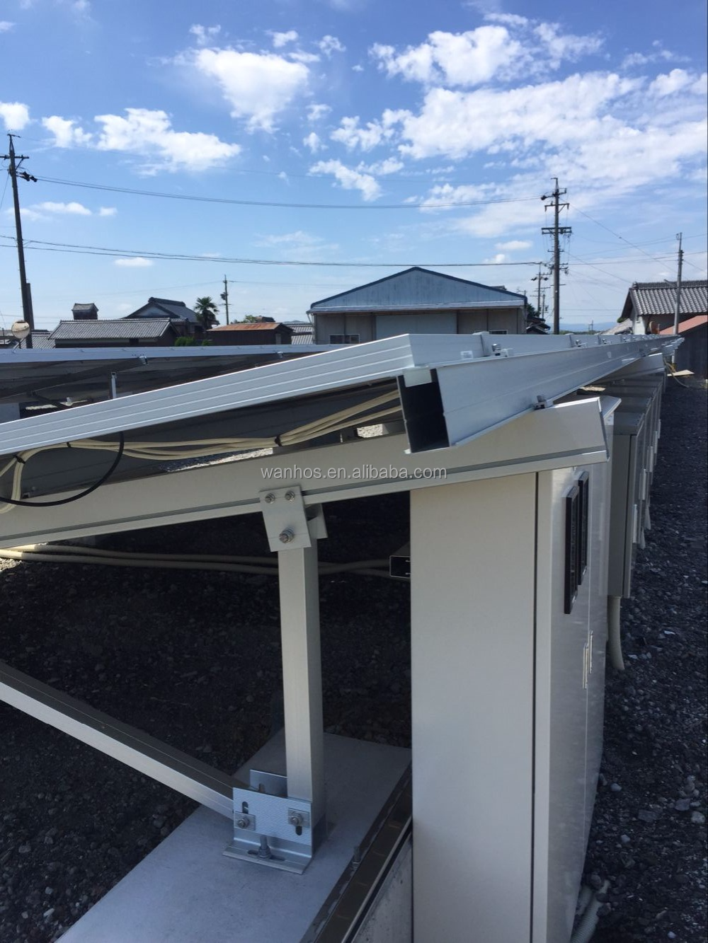 Ground PV Solar Panel Mounting System