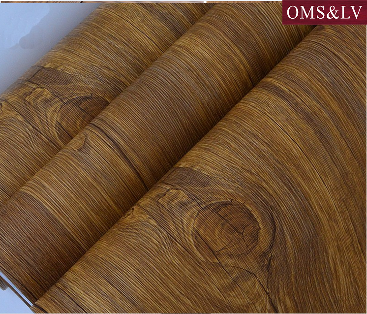 Trade Assurance support samples furniture pvc wood grain decoration foil with Customized