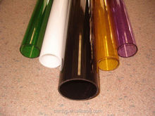 Colored Acrylic Tubes, Colored Plastic Tubes, Clear Plastic pmma Tubes