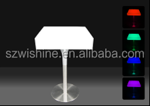 whole sale table led/led lighted tables/lighted furniture/table led light