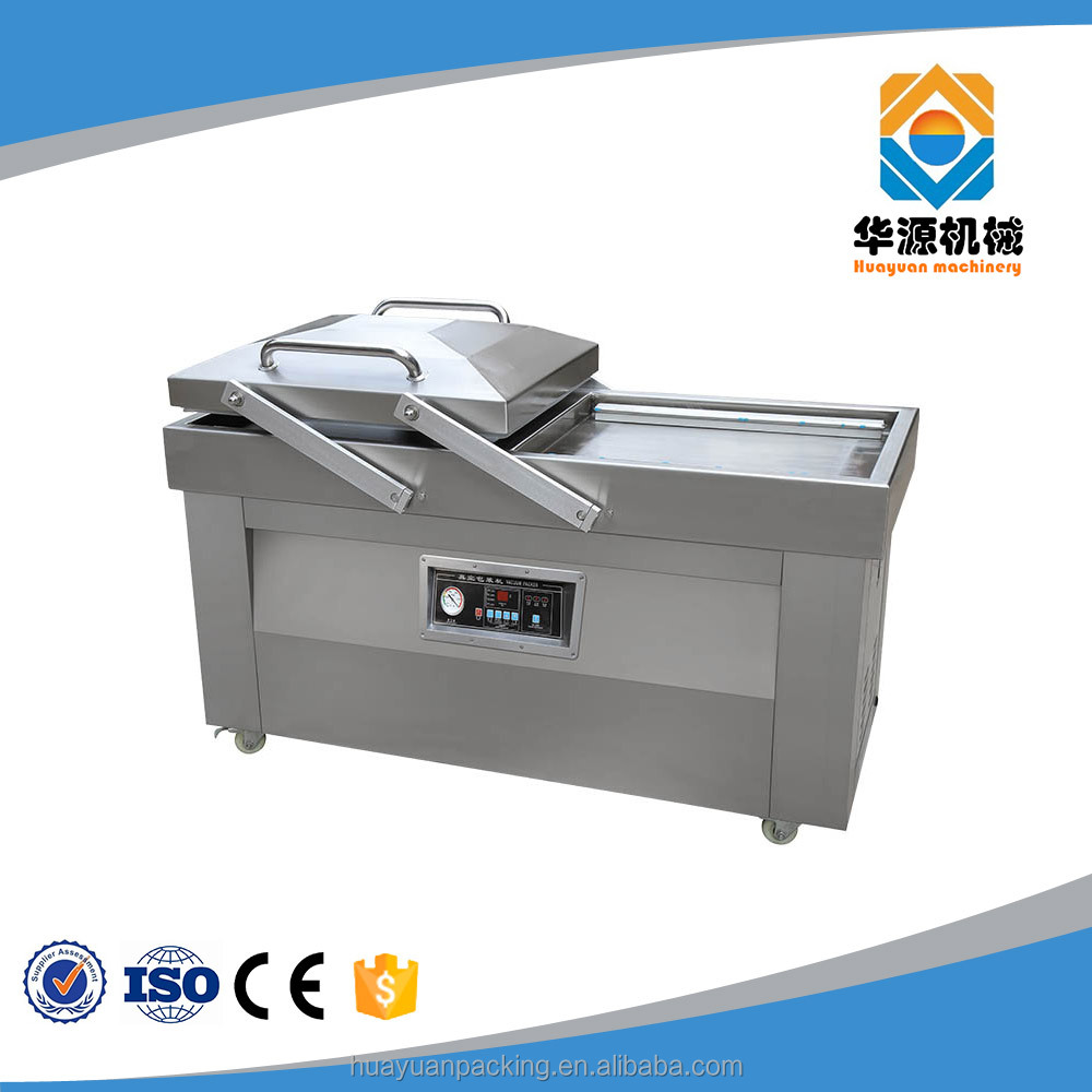 DZ-500/2SB Automatic Double Chamber Food/Sausage Vacuum Sealer Packing Machine