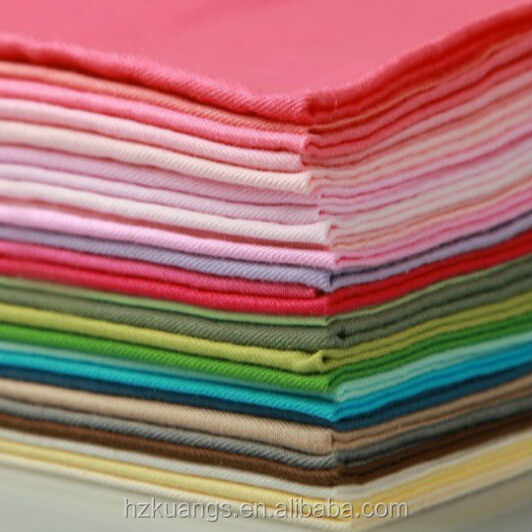 textiles 100% plain cotton fabric