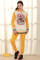 Manufacturers suppliers hoodies sportswear gym wear training wear tracksuit set wholesale