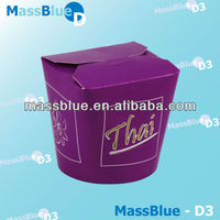 disposable paper rice boxes/disposable aisa sushi box
