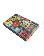 Custom colorful jigsaw puzzle toy manufacturers