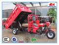 china chongqing best selling excellent carrying capacity 150-300 cc dumper three wheel motor trike