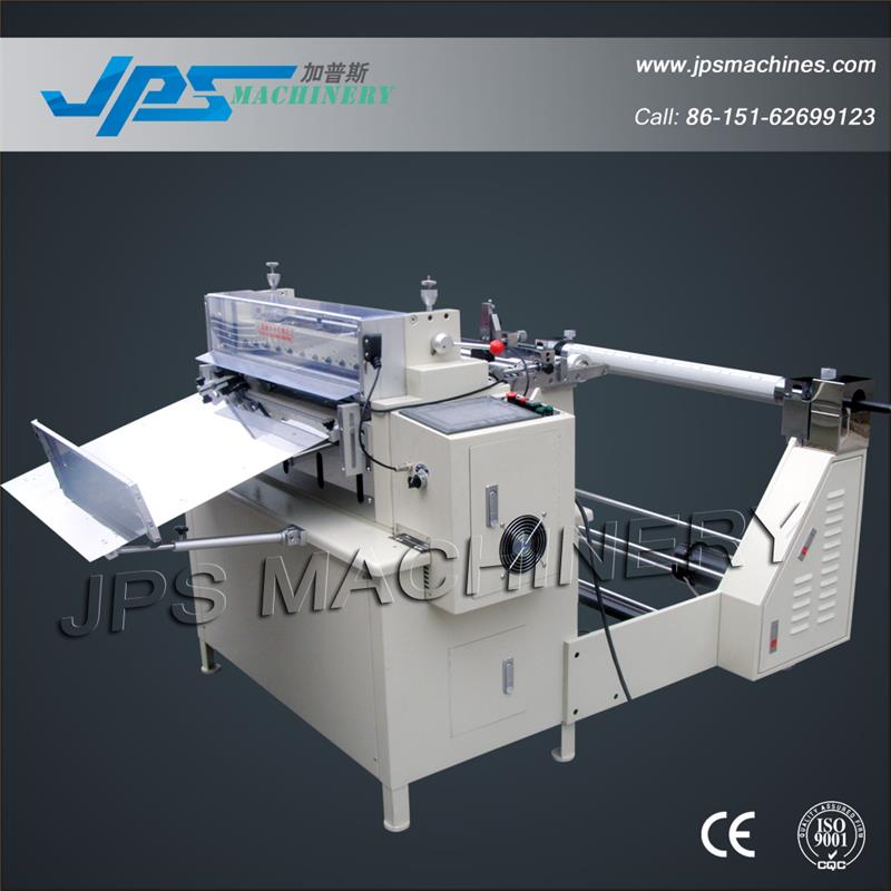 JPS-600B Automatic Roll to Sheet Cutter Machine With Automatic Unwinding System