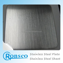 Hairline Brushed Finish 304 316L Stainless Steel Sheet for Elevator Doors, Cabs & Ceiling Panels