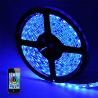 2014 Newest RGBW smartphone control addressable led strip light/ip68 waterproof smd5050 bluetooth 4.0 enabled led flexible strip