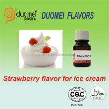 Strawberry food grade flavors for ice cream, ice cream flavour, flavor