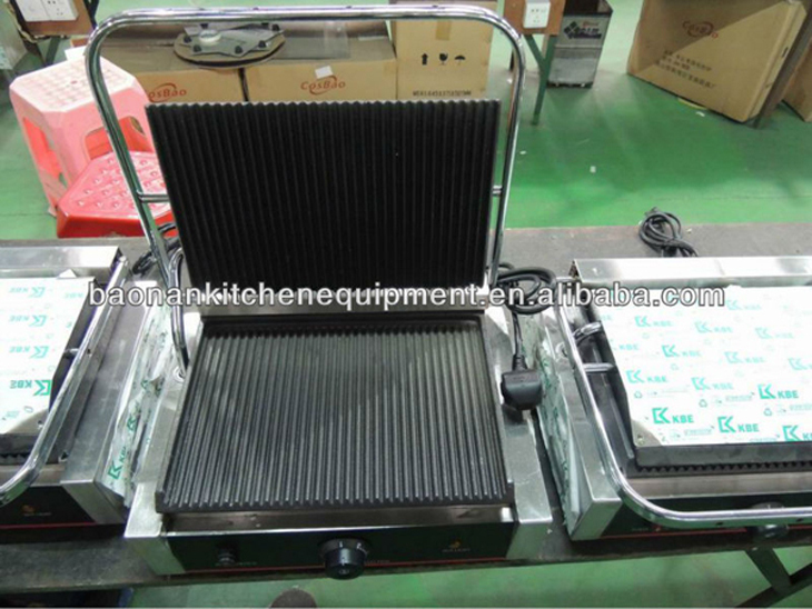Enamel Coated Cast Iron Electric Contact Steak Grill With Single Head BN-811E (Baonan Limited)