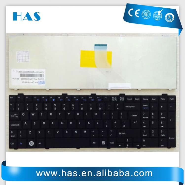 keyboard for FUJITSU LB A530 A531 AH512 AH530 AH531 NH751 rus white