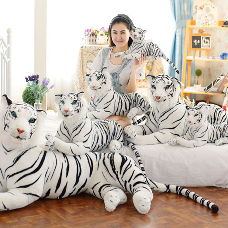model plush exact replica white tiger toy at home personalized stuffed animals