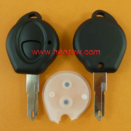 Hot selling New Model Peugeot 1 button remote key shell, peugeot remote key blank