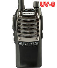 BAOFENG dual band FM 2 way radio 5W ANI code UV-8 pf walkie talkie