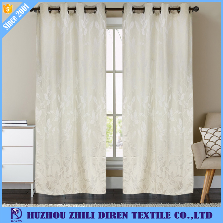 Modern Design Fancy Living Room Half Shading Window Curtain