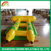 Commercial Grade Two Tubes Inflatable Banana Boat For Fun, rides pool toys inflatable fly fish for sale