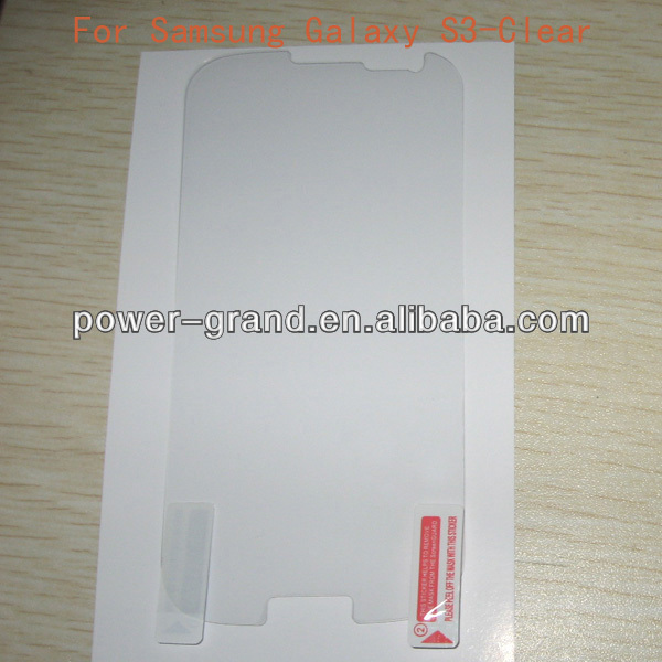 Screen guard film for Samsung Galaxy S3 S 3 III I747