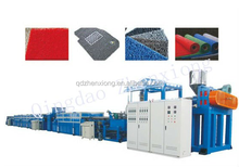 PVC spinning carpet making machinery / Plastic coil mat extrusion line