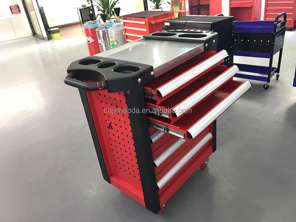 6 drawers/7 drawers tool cabinet car repair tool trolley