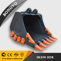 all kinds attachment Can be customized, excavator bucket types, heavy duty excavator bucket rock digging equipment SE280