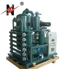 Double-Stage Vacuum Oil Purifier Oil Filtration Plant ZYD