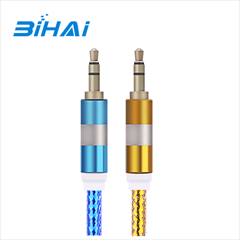 High Quality Gold Plated 3.5mm Male To 2 Rca Male Adapter Stereo Audio Cable
