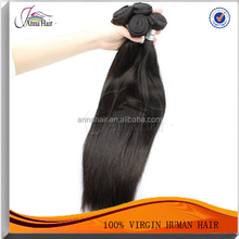 Anna Natural Unprocessed Remy Raw Indian Virgin Human Hair Straight Wavy Curly