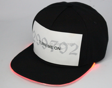 Custom LED Hat and LED Cap /snapback cap with led lights