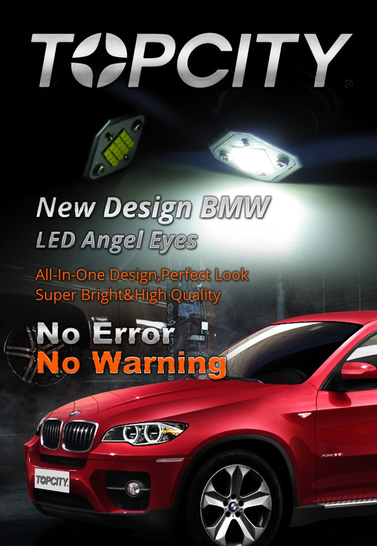Topcity Manufacturer E39 LED Marker Lamp 80W LED Angel Eye for BMW Headlights Auto Accessory of LED Lights