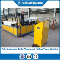 HC-TT Full Automatic toilet paper making machine price