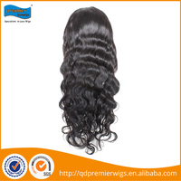 2014 Hot sale premier wigs cheap natural looking 100% brazilian huamn hair lace wig baby hairline u part wigs for black women