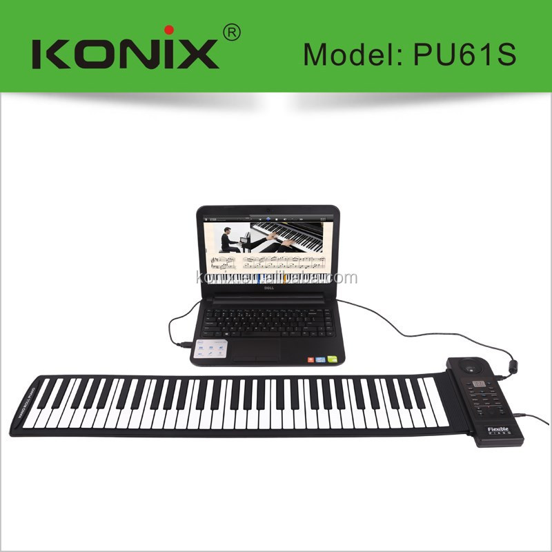 61keys midi keybord with speaker inside with software include-- for christmas promotion