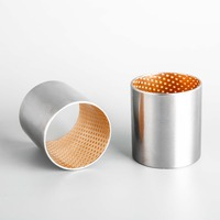 bimetal bush carbon steel bronze bearing bushing, wrapped bushes