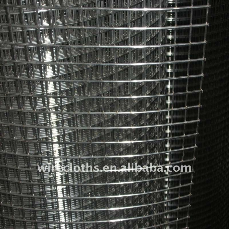 SS 304/316L Stainless Still Square welded Wire Mesh