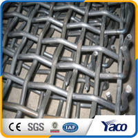 SS 316L stainless steel crimped wire mesh price per panel