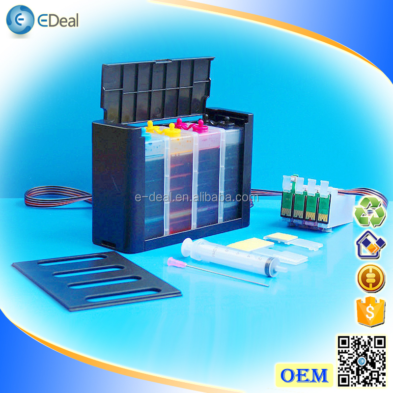 (T1381-T1384) 4 colors ink system for Epson Workforce 320 630 633 CISS with auto reset chip