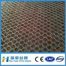 16 gauge galvanized hexagonal wire mesh/chicken wire fence