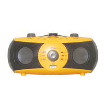 Dynamo power portable mp3 player built-in speakers portable dvd player