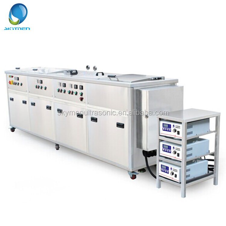 5 tanks cleaning/spraying wash/rinsing/dryer JP-5072GH hydraulic pump component ultrasonic cleaning machine