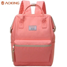 Fashion design ladies backpack leisure girls backpack bag pink women backpack
