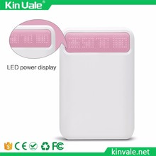 Factory Original High quality power bank 10800 mah LED indicator power