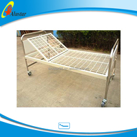 ALS-M117 Hot sale cheap manual hospital bed prices 1 function patient bed