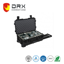 IP67 waterproof custom EVA foam hard PP plastic large equipment case