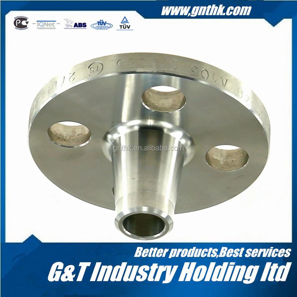 Ansi standard stainless steel flanges weld neck flange