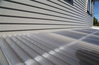 corrugated polycarbonate roofing sheet for Pergolas/Porches/Family areas